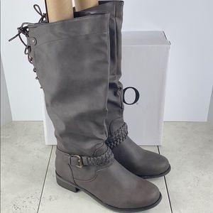 NEW NIB XOXO Mallory Tall Boots Brown Size 8.5